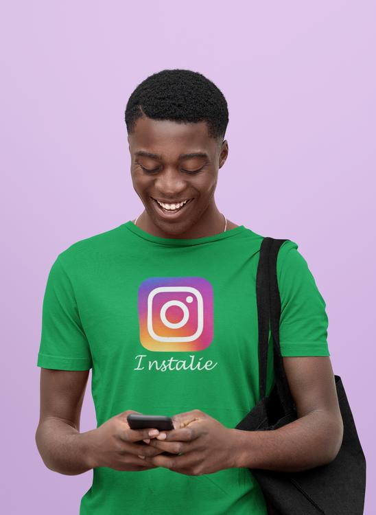 Everything is not true on instagram. Skaffa din instalie T-Shirt i dag!