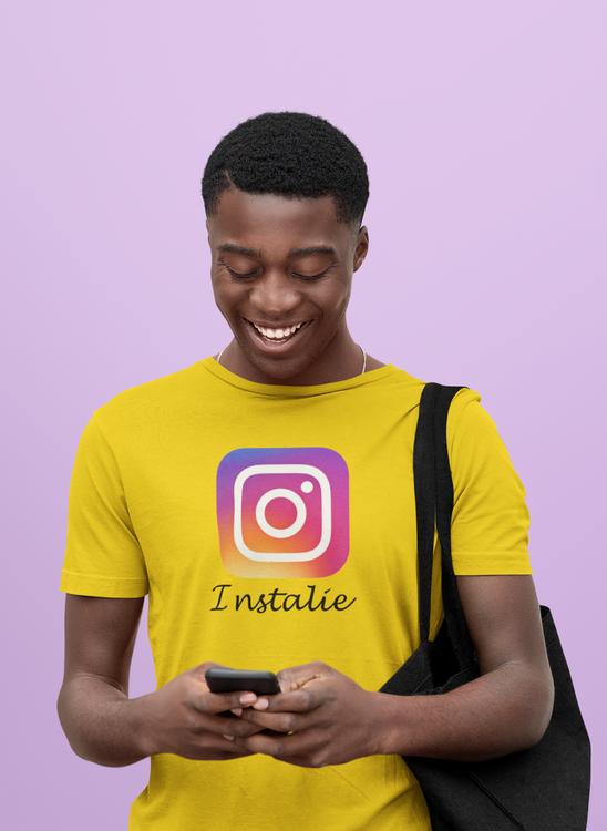 Tro inte på allt som skrivs på instagram Tshirt