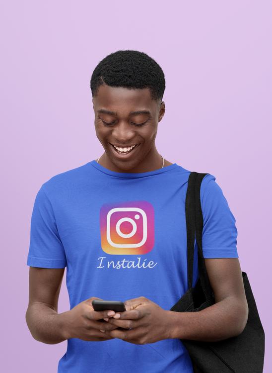 Rolig Instagram Tshirt för alla