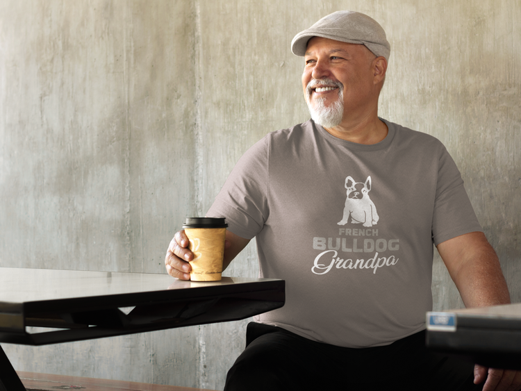 Fransk Bulldog T-Shirt, Fransk Bulldog Tshirt