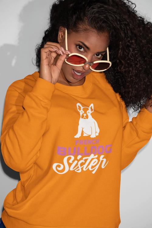 French Bulldog Sister Sweatshirt Unisex