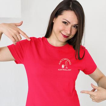 Dammsugar Kontrollant T-Shirt Women