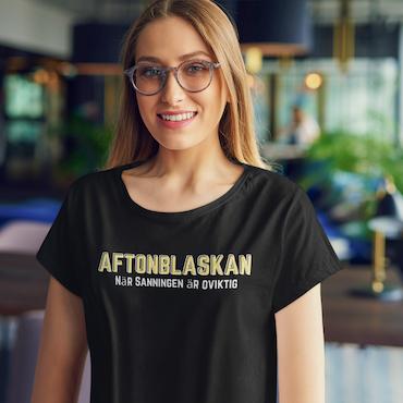Aftonblaskan T-Shirt  Dam