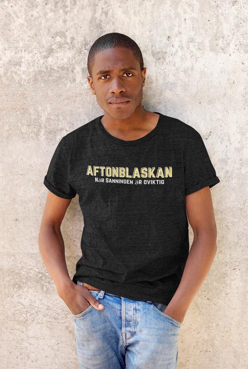 Aftonladet. Svenska Nyhter. T-Shirt med Tryck Aftonblaskan