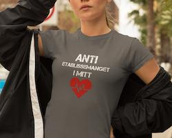 Anti Etablissemanget T-Shirt Dam