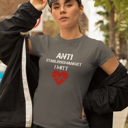 Anti Etablissemanget T-Shirt Dam