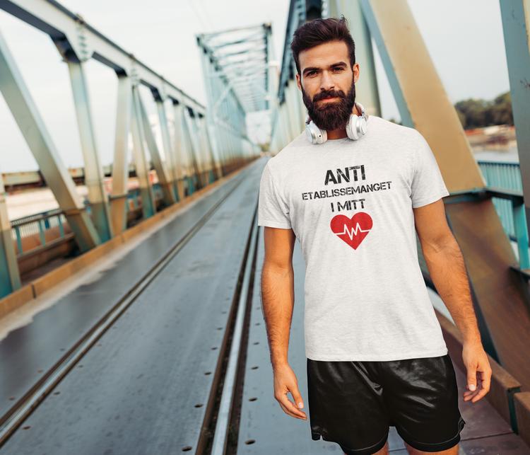 Anti Etablissemanget T-Shirt Herr