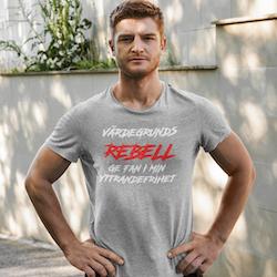 Värdegrunds Rebell T-Shirt Herr