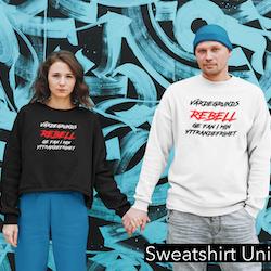 Värdegrunds Rebell Sweatshirt Unisex