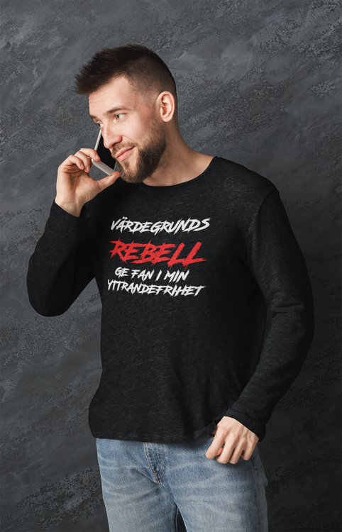 Värdegrunds Rebell Long Sleeve T-Shirt