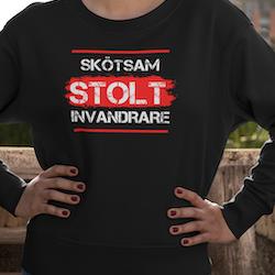 Skötsam-Stolt-Invandrare Sweatshirt Unisex
