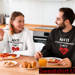 Anti Etablissemanget Sweatshirt Unisex