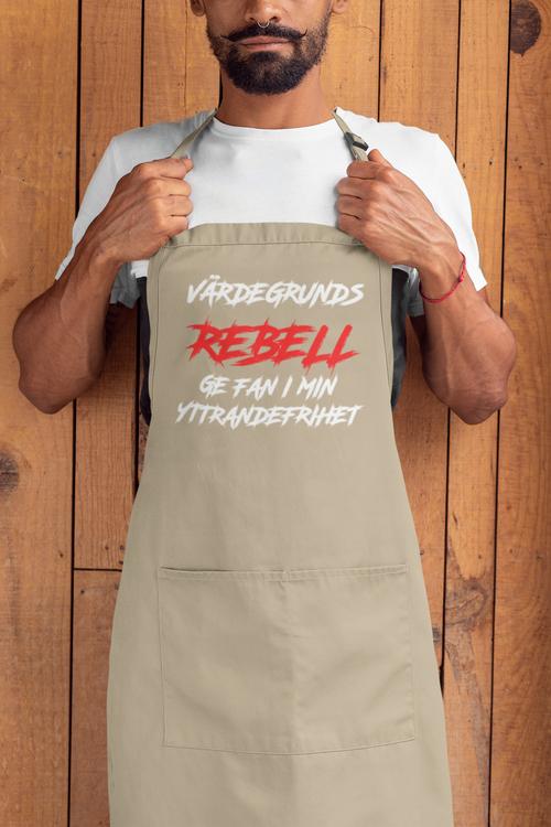 Värdegrunds Rebell Förkläde