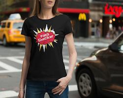 Fact Checker T-Shirt Dam