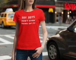 Soy Boys T-Shirt Dam