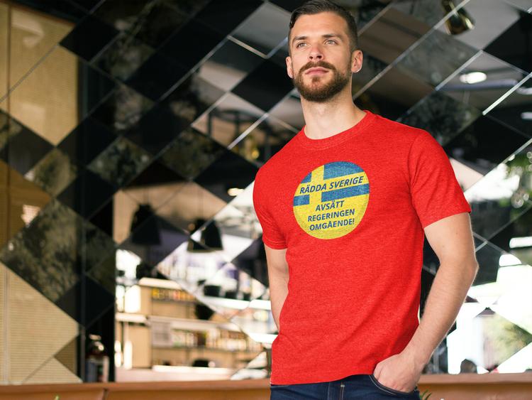 Valet 2022 Sverige. Svenska Regeringen har fallerat. Rösta för ny regering nu T-Shirt