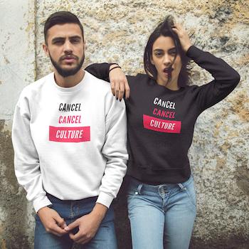 Cancel Cancel Culture Sweatshirt Unisex