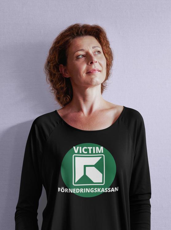 Försäkringskassan, FK, Förnedringskassan Långarmad T-Shirt