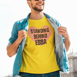 Standing Behind Ebba T-Shirt Herr