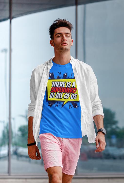 Super Hero T-Shirt. En Tshirt från vår Stop The Hate Collection