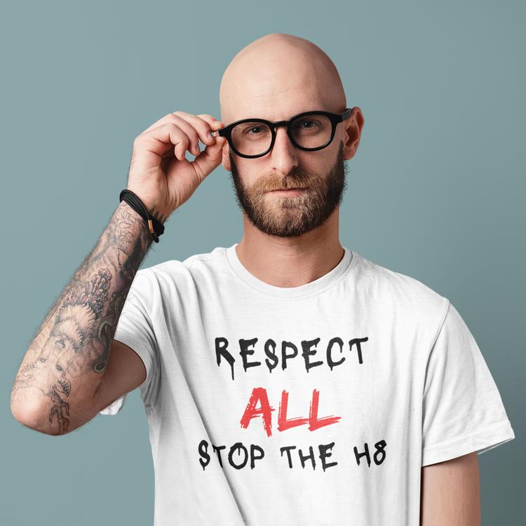 Respect All T-Shirt Herr