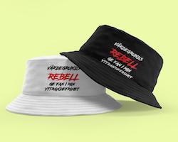 Värdegrunds Rebell Bucket Hat