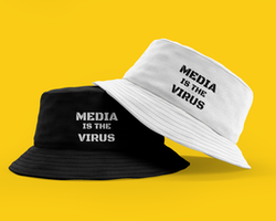 Media Is The Virus Bucket Hat