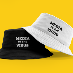 Media Is The Virus Bucket Hat