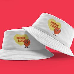Choose Love Bucket Hat