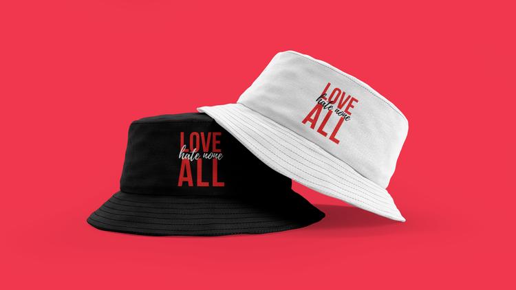 Hate None Bucket Hat