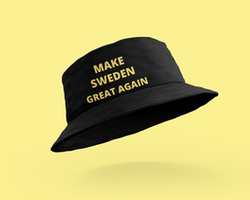 Make Sweden Great Again Bucket Hat