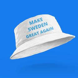 Make Sweden Great Again Bucket Hat