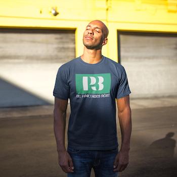 P3- De Häktades Röst T-Shirt Herr