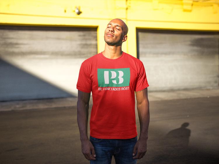 T-Shirt Sveriges Radio & Television. T-Shirt Herr flertalet storlekar