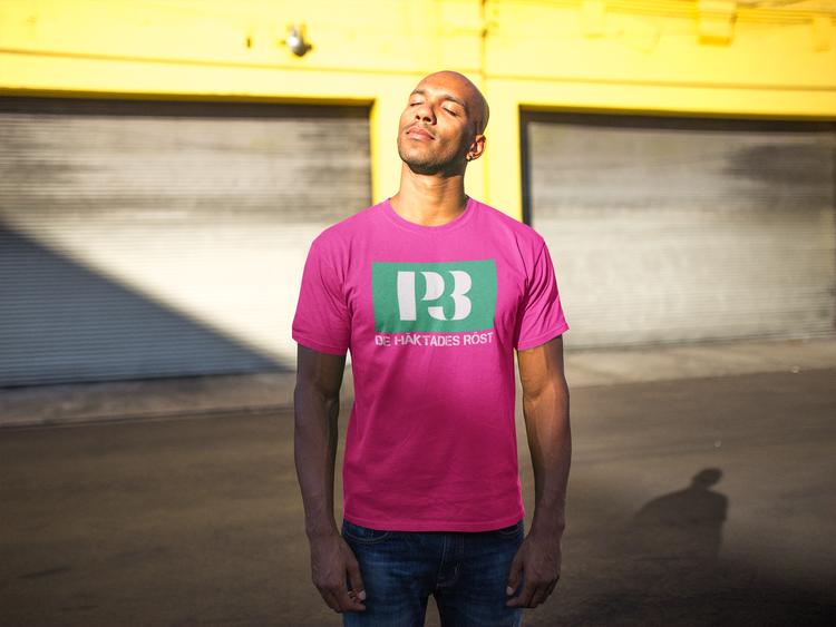 En T-Shirt för Radio P3 OCH 2021 års Guldgala