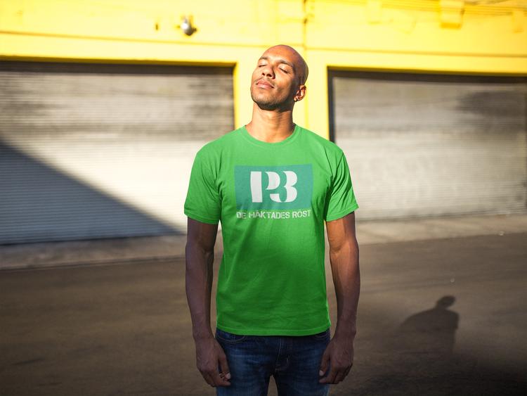 Anti Radio licens T-Shirt, Sveriges Radio & Television. T-Shirt för män i färger du inte hittar hos andra T-Shirts leverantörer