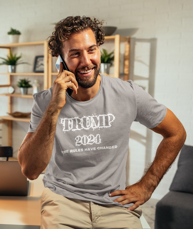 The Rules Has Changed. Keep America Great Again. Trumo for President 2024