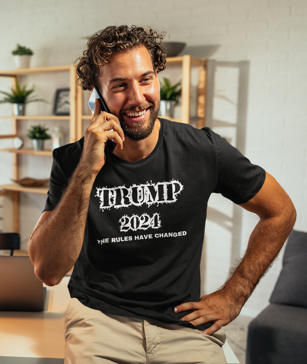 Trump Supporter TShirt . Trump 2024 The Rules Have changed