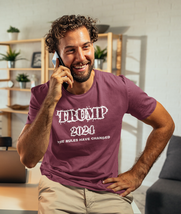 Trump back in the oval office by 2020. The Rules have changed, Trump 2024 Tshirt Men/Herr