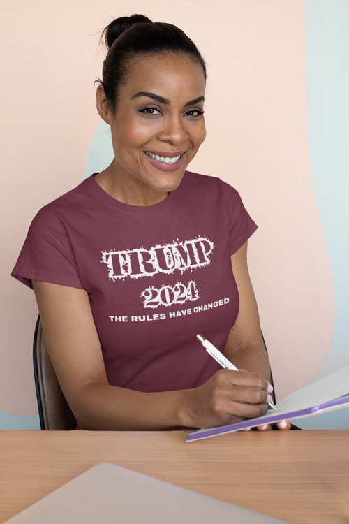 T-Shirt Trump 2024. Trump supporter Tshirt i flertal färger.