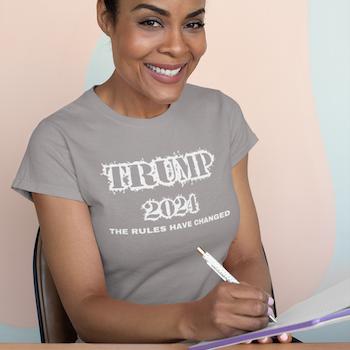 Trump 2024 T-Shirt Dam