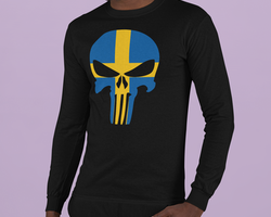 Swedish Skull Long Sleeve Herr