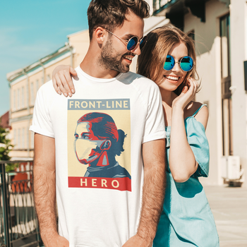Front Line Hero T-Shirt Herr