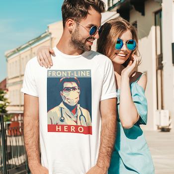 Front Line Hero II T-Shirt Herr