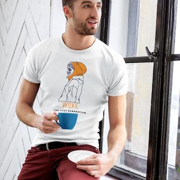 WOKE The Lost Generation T-Shirt Herr