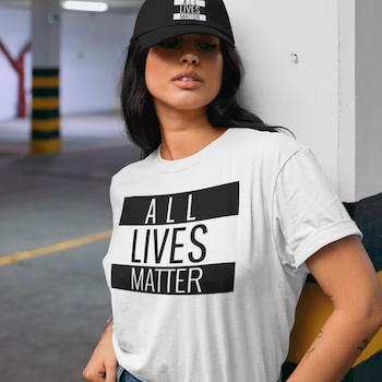 All Lives Matter T-Shirt Dam