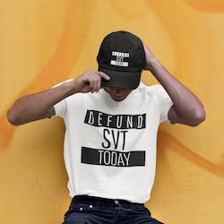 Defund SVT Today T-Shirt Herr