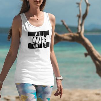 All Lives Matter Tank Top Dam