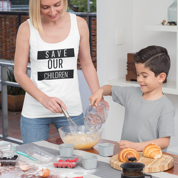 Save Our Children Tank Top Dam