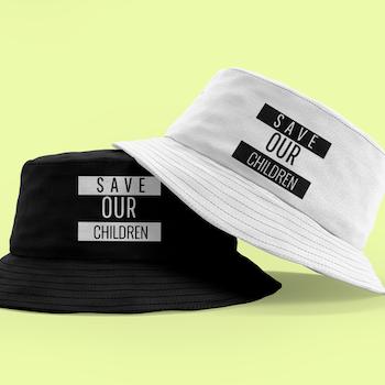 Save Our Children Bucket Hat